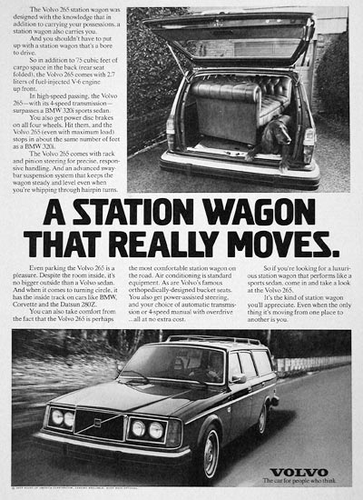 1977 Volvo 265 Station Wagon #005408