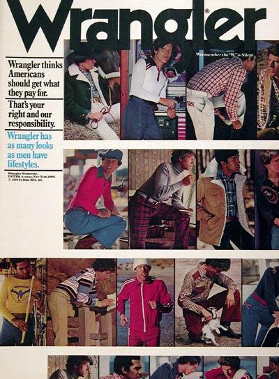 1978 Wrangler Menswear #005480