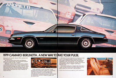 Camaro on 1979 Chevrolet Camaro Berlinetta Debut Classic Vintage Print Ad
