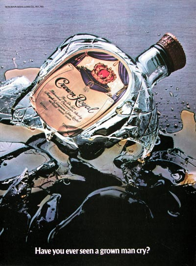 1983 Crown Royal Whiskey #023956