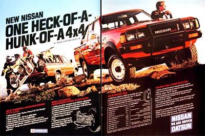 nissan 4x4 pickup