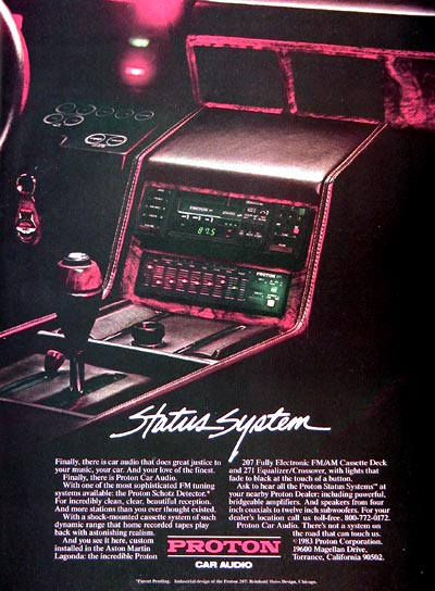 Retro car stereo systems