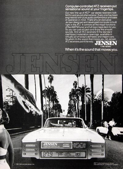 1984 Jensen Car Audio #023982