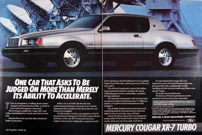 1984 Mercury Cougar XR-7 Turbo #024034