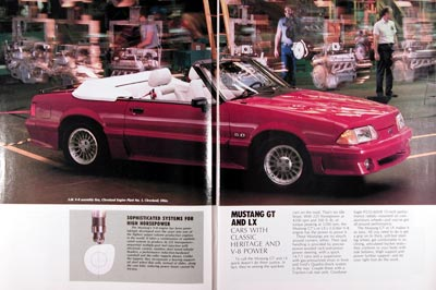 1989 Ford Mustang GT Convertible #023906