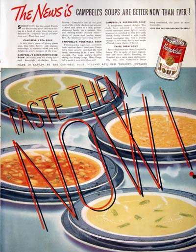 1937 Campbell's Soup Vintage Ad #000359