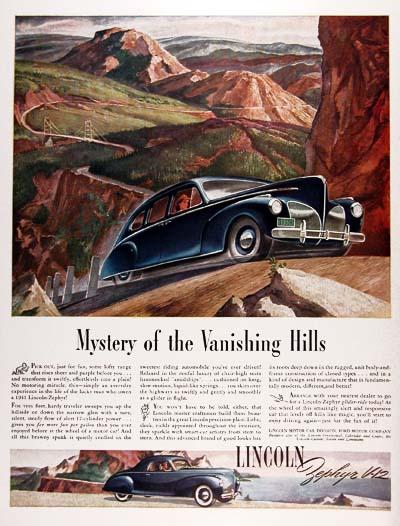 1941 Lincoln Zephyr V12