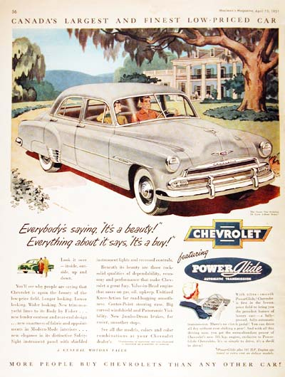 51 chevrolet. 1951 Chevrolet Styleline Sedan