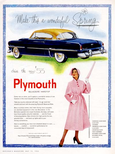 1953 Plymouth Belvedere #000590