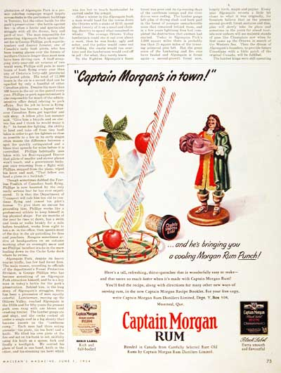 1954 Captain Morgan