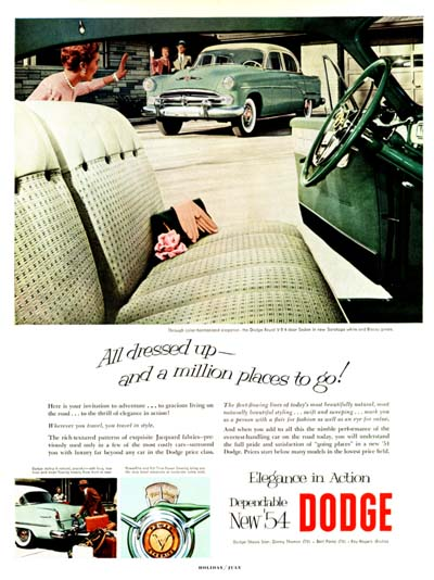 1954 Dodge Royal #000643