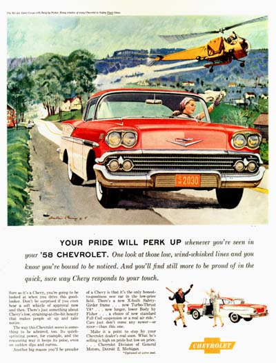 1958 Chevrolet Bel Air #000794