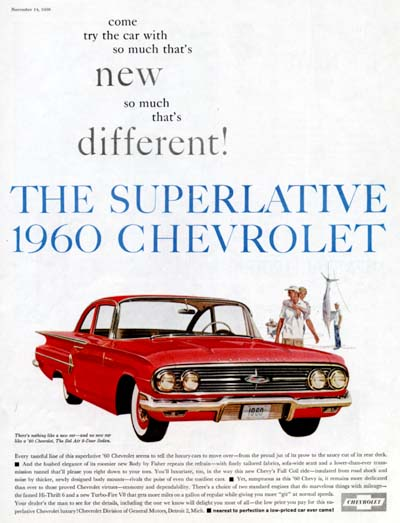 1960 Chevrolet Bel Air #000852