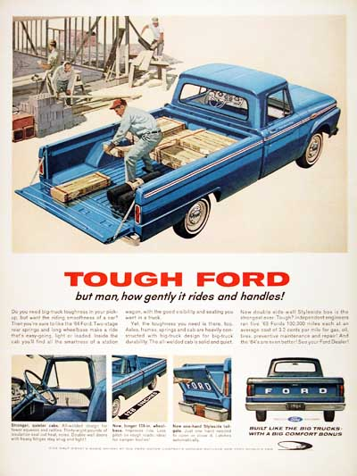 1964 Ford F-100 #001046