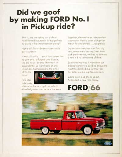 1966 Ford F-100 #001200