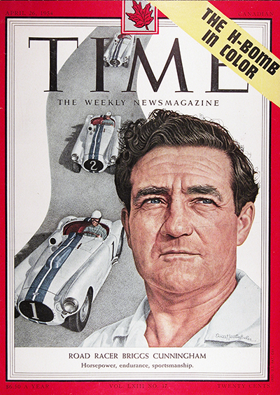 1954 Time Cover - Briggs Cunningham #025577
