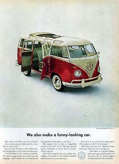 1961 Volkswagen Window Bus Vintage Ad #025498
