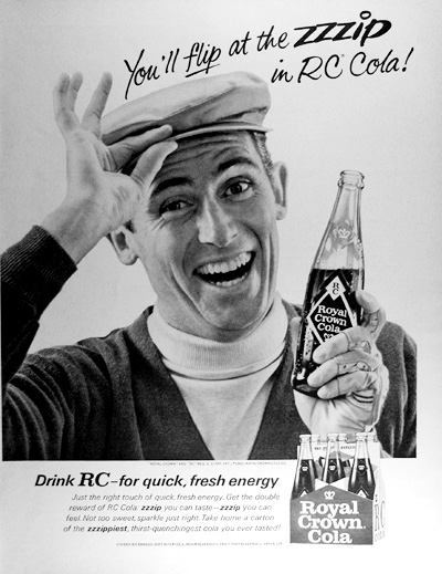 1965 Royal Crown Cola Vintage Ad #025467