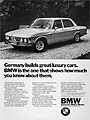 1972 BMW Bavaria Sedan