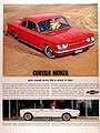 1963 Chevrolet Corvair Monza Coupe Convertible