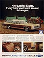 1973 Chevrolet Caprice Estate Station Wagon