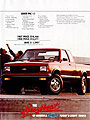 1988 Chevrolet S-10 Pickup Trucks