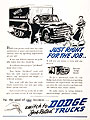 1949 Dodge Job Rated Trucks