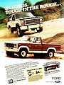1981 Ford Bronco Pickup 4x4