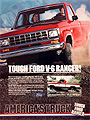 1983 Ford Ranger V6 Pickup