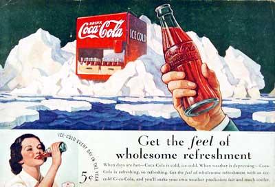 anuncio 1930s de soda