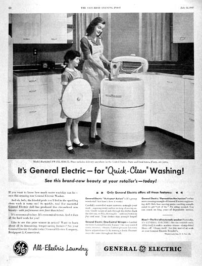 1947 GE Washer #002239